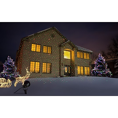 Starscapes Decorative Projection Lights, Laser or LED, Assorted Patterns & Colors