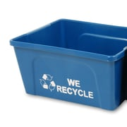 Busch Systems Deskside 3-Gal Office Recycling Kit (Set of 25)