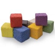 Creativity Street Squishy Foam, 8 Assorted Colors, 1oz Blocks (CK-9652)