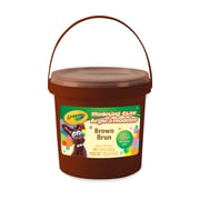 Crayola® Modeling Clay Bucket, Non Toxic, Brown, 1 lb (BIN571307)