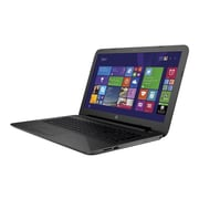 "HP T4M56UT#ABA 250 G4 15.6"" HD Display Intel Pentium 3825U 500GB HDD 4GB RAM Windows Notebook, Black"