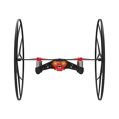 Parrot – Drone Rolling Spider avec pile supplémentaire, rouge (PF723092AA)