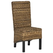 Safavieh Pembrooke Side Chair (Set of 2); Natural