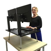 Stand Steady The Executive Stand Steady Standing Desk, Stand up Desk, 32'' x 22'' desktop