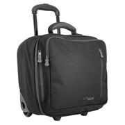 LiteGear 14.5'' Rolling Suitcase; Black