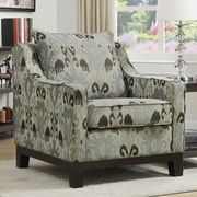 Ave Six Regent Arizona Polyester Club Chair; Oyster