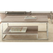 Steve Silver Furniture Lucia Coffee Table; Brown