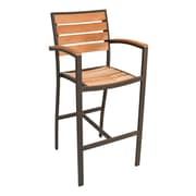 Florida Seating 30'' Bar Stool; Brown