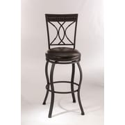 Hillsdale Kirkham 26'' Swivel Bar Stool with Cushion