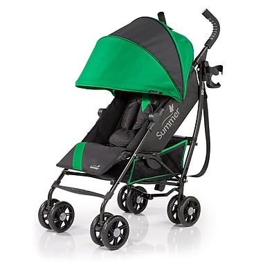 Summer Infant 3D-ONE Convenience Stroller, Brilliant Green