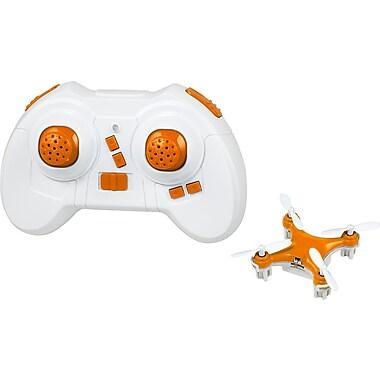 Teeny Drones – TD001-O Le plus petit drone au monde, Étui à édition limitée, orange