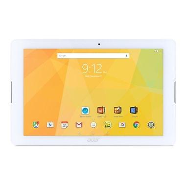 Acer - Tablette tactile B3-A20-K2LC, 10,1 po, WXGA, MediaTek Cortex A53 MT8163 quadricoeur, RAM 1Go, Android, WIFI, blanc