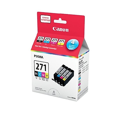 Canon CLI-271 CMYK Assorted Ink Value Pack