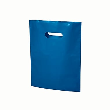 B2B Wraps – Sacs découpés, couleurs mode unies, 9 po x 12 po, bleu royal, paq./1000