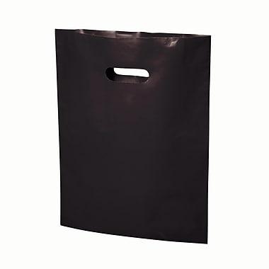B2B Wraps – Sacs découpés, couleurs mode unies, 13 po x 17 po, blanc, paq./500