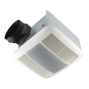 Broan Ultra Silent 80 CFM Energy Star Quietest Bathroom Fan with Fluorescent Light