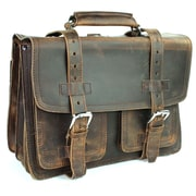 Vagabond Traveler Medium CEO Leather Briefcase and Backpack