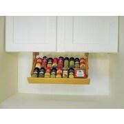 R.R. Murphy's Ultimate Kitchen Storage Under Cabinet Spice Rack; 2.75'' H x 19'' W x 10'' D