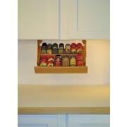 R.R. Murphy's Ultimate Kitchen Storage Under Cabinet Spice Rack; 2.75'' H x 15.75'' W x 10'' D