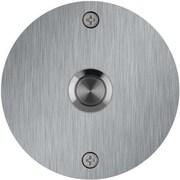 Waterwood Hardware Round Stainless Steel Doorbell