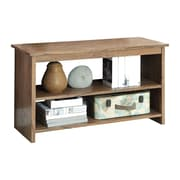 Hokku Designs Waldon Open Shelf Console Table; Rustic Oak