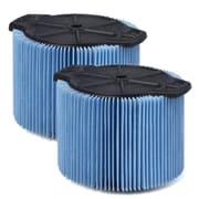 WORKSHOP Fine Dust Filter (Set of 2); 3 - 4.5 Gallon