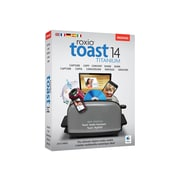 Corel 1 User Roxio® Toast v.14.0 Titanium Software for Mac, Disk (RTOT14MLMBAM)