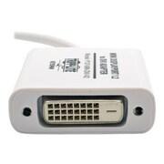 "Tripp Lite P137-06N-DVI-V2 6"" Keyspan Mini DisplayPort 1.2 to DVI Active Adapter Converter, White"