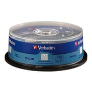Verbatim® M-Disc™ DVD Recordable Media, 25/Pack (98908)