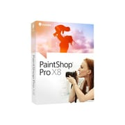 Corel® PaintShop Pro X8 Photo Editing Software, 1 User, Windows, CD-ROM/DVD-ROM (PSPX8ENMBAM)