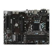 msi® ATX Desktop Motherboard, 64GB DDR4 (B150 PC MATE)