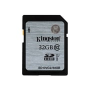 Kingston® SD10VG2/32GB Class 10 UHS-I 32GB SDHC Flash Memory Card
