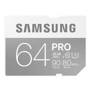 Samsung MB-SG64E/AM Pro Class 10/UHS-I (U3) 64GB SDXC Memory Card
