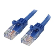 StarTech 75' Snagless Cat5e UTP Patch Cable, Blue