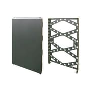 "Innovation 19"" 1U Wall Mount Rack, Black (1URACK-110)"
