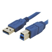 StarTech.com 3' SuperSpeed USB 3.0 Male to Male Cable, Blue