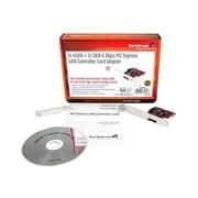 StarTech PCI Express SATA Controller Card Adapter (PEXSAT31E1)