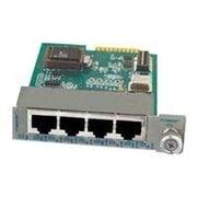 Omnitron iConverter® 8481-4 4 Port Managed Ethernet Switch