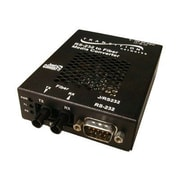Transition Networks® J/RS232-CF-01(SC) 2 Port DB-9 to SC Stand Alone RS232 Media Converter