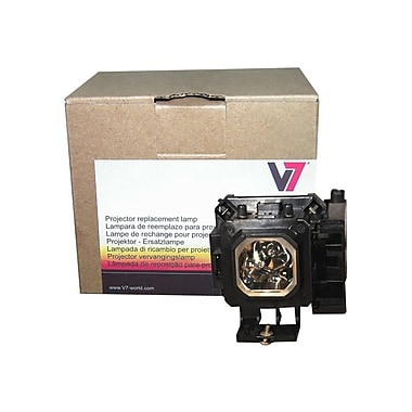 V7® Projector Replacement Lamp for Hitachi CP-X200, Black (VPL1660-1N)