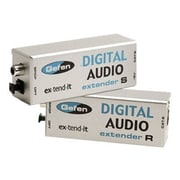 Gefen® EXT-DIGAUD-141 Extends S/PDIF and TOSLINK® Digital Audio Extender With Receiver