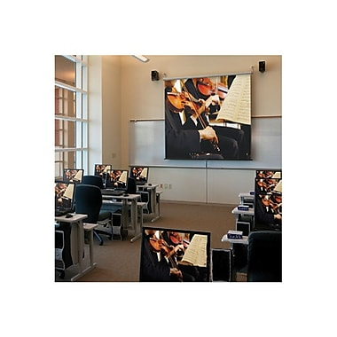 Draper ® Luma 207006 Manual Wall/Ceiling Projection Screen, 136