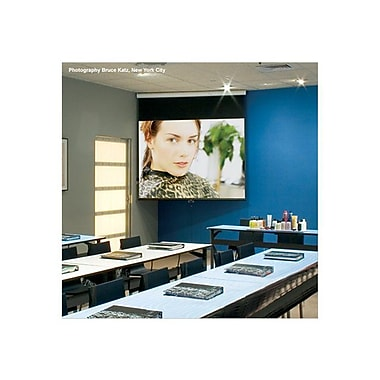Draper ® Luma 207100 Manual Wall/Ceiling Projection Screen, 92