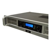 Pyle 2-Channel 3000 W Rack-Mount Power Amplifier, Gray (PEXA3000)