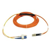 Tripp Lite® LC to SC Male/Male Single Mode Duplex Fiber Optic Network Patch Cable, 3.3', Orange/Yellow (N424-01M)