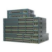Cisco™ Catalyst® 2960 Series Intelligent Ethernet Switch, WS-C2960-24TC-L-RF, 24 Port, Fast Ethernet, Black