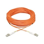 Tripp Lite N520-35M 35m LC/LC Male/Male 50/125 OM2 Duplex Multimode Fiber Optic Patch Cable, Orange