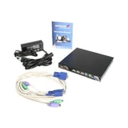 StarTech SV1115IPEXT 1-Port USB Server Remote Control IP KVM Switch for OSD Equipped KVM Switches