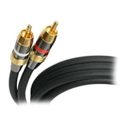 StarTech 10' Premium Stereo Audio Cable, Black (AUDIORCA10)