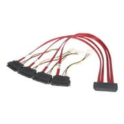 StarTech 1.6' SFF Serial Attached SCSI SAS Cable, Red